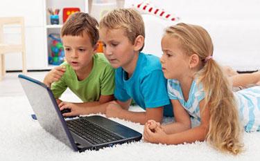 Kinderen op internet