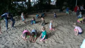 schooolreis zandbak