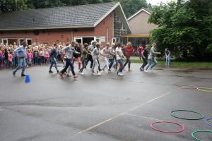 De leerkrachten van de Edese Schoolvereniging rennen zich rot!