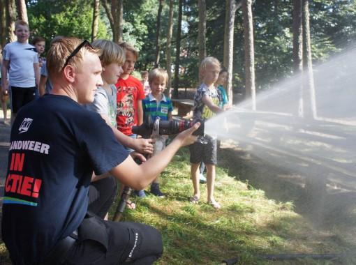 Brandweer op de Edese Schoolvereniging