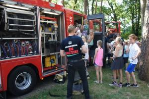 Brandweer op Edese Schoolvereniging