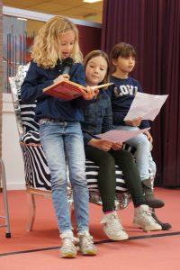 Bodil, Tessa en Sayra
