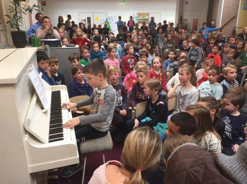 Pianoklanken op de ESV