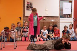 Groep 3: verhaal over een hert, wat deed hij daar?