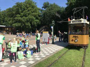 Met de tram door het Openlucht Museum