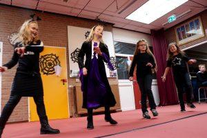 Ilane, Maud, Floortje en Alysia