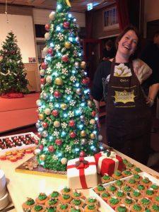 Een unieke kerstboomtaart op ware grote!